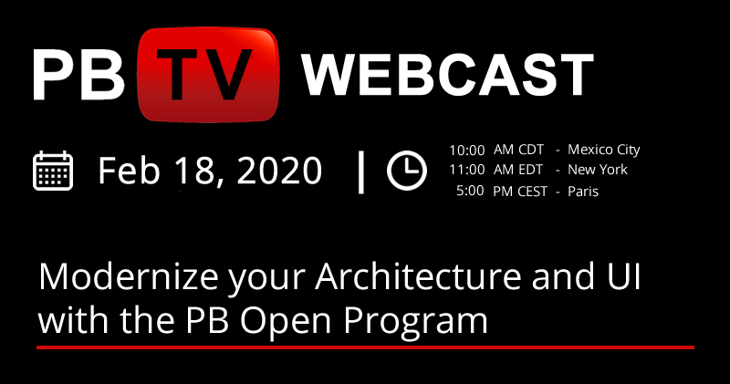 Modernize your Architecture & UI with PB Open Program | PBTV Webcast