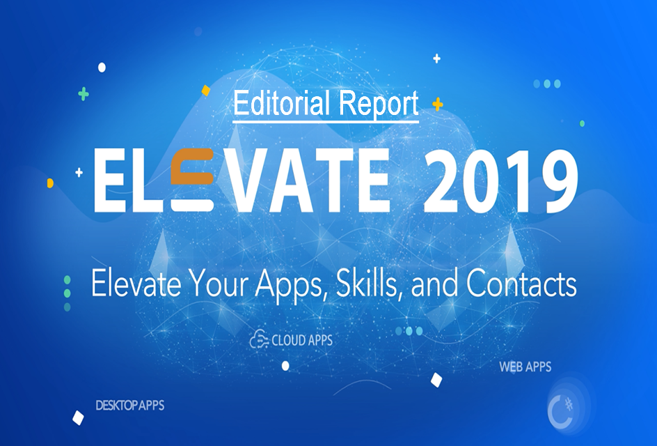 Elevate 2019 Report - Editorial Published