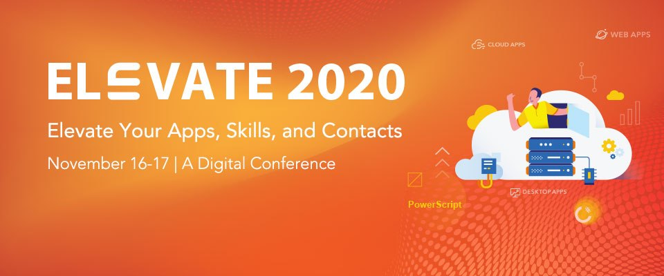 Session Catalog | Elevate 2020 Online Conference