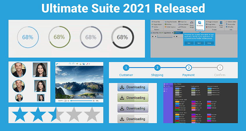 Ultimate Suite 2021 for PowerBuilder New Themes and Styles