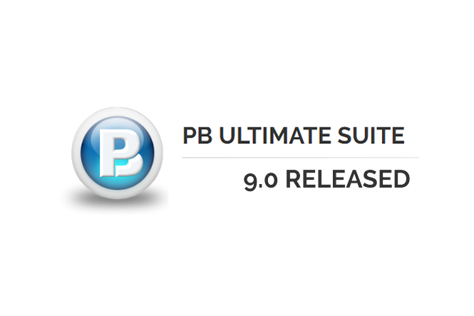 NEW in PB Ultimate Suite 9.0
