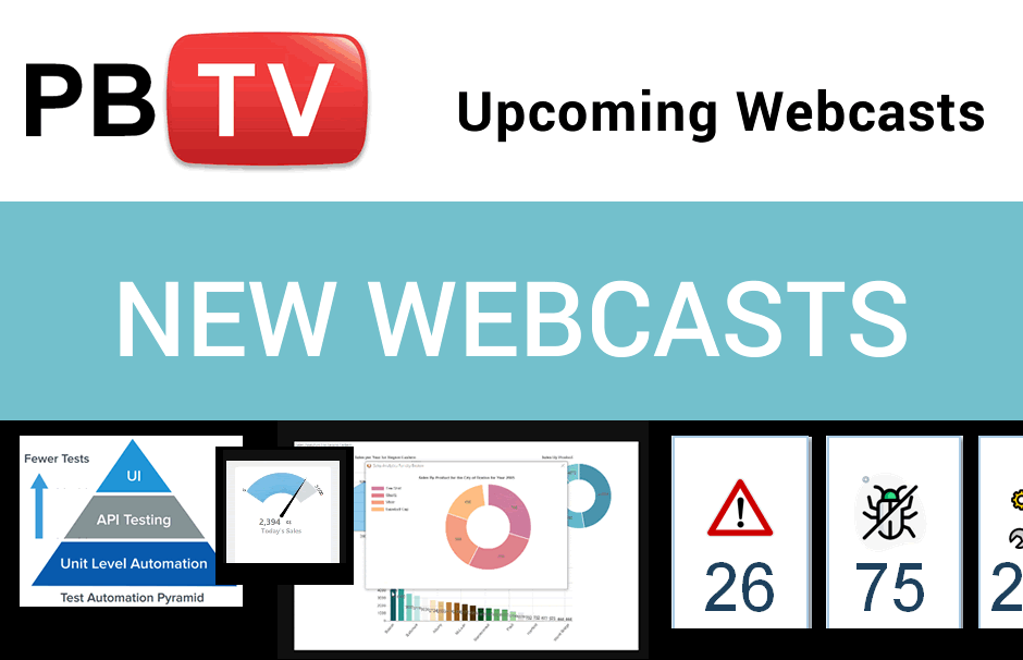 September 2020 PBTV Webcasts