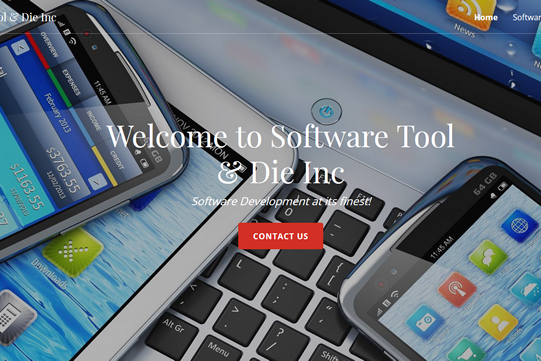 Software Tool & Die - New Website